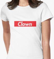 Clown Womens Fitted T-Shirt