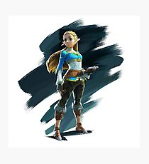 Breath of the Wild: Zelda Photographic Print