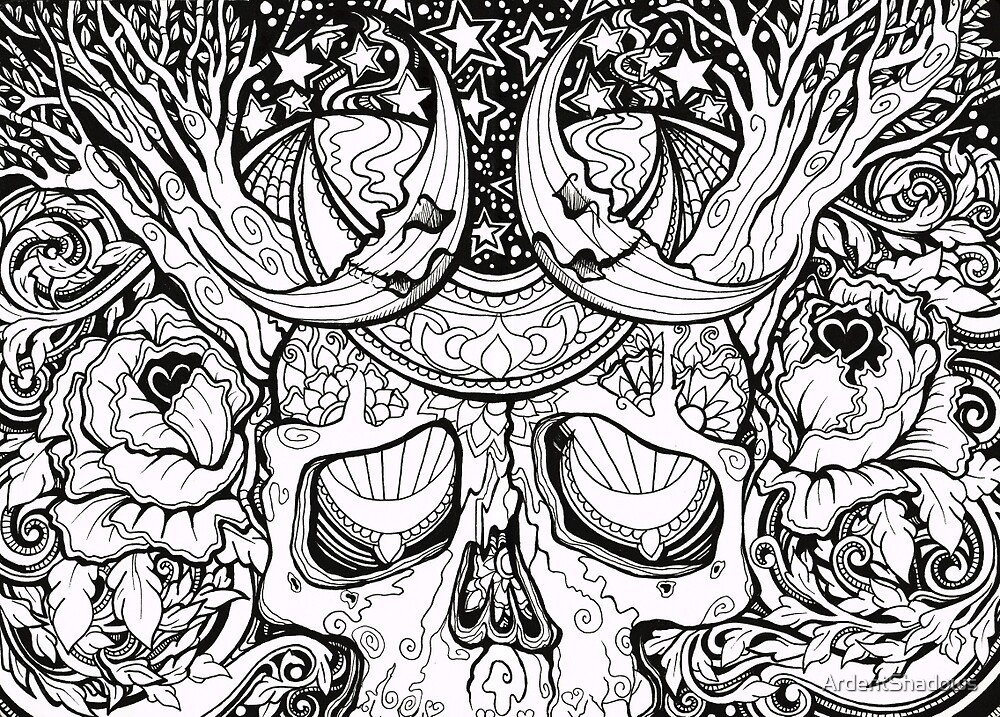 Magic Skull by ArdentShadows
