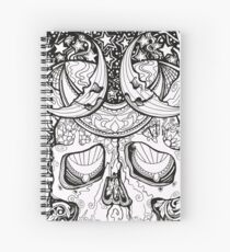 Magic Skull Spiral Notebook
