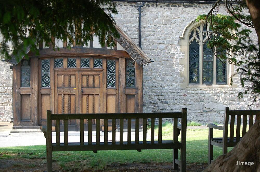 Churchyard by JImage