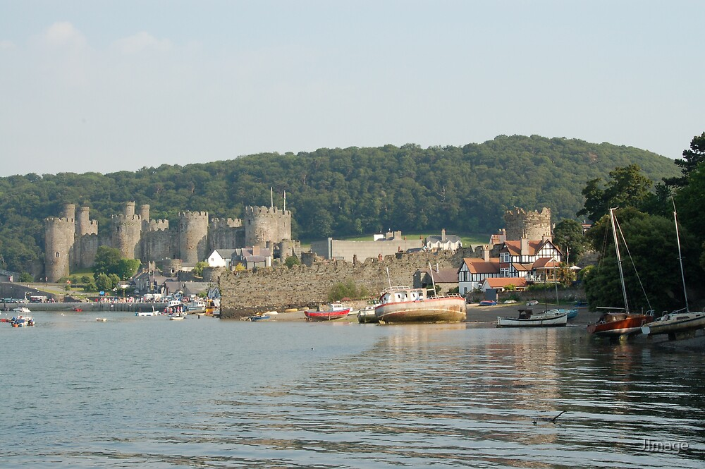 Harbour and Castle by JImage