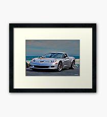 2005 Corvette Z06 Stringray Framed Print