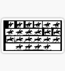 Horse in Motion, Eadweard Muybridge, ca. 1886 Sticker