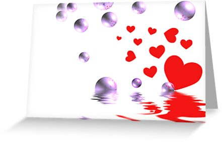 Love Bubbles Over by Maria Dryfhout