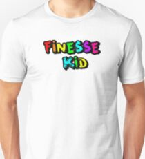 Finesse Kid Colorful Block Text -Kodak Black T-Shirt