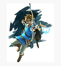 Breath of the Wild: Link Bow Photographic Print
