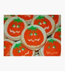 Halloween Cookies Photographic Print