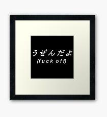 explicit Framed Print