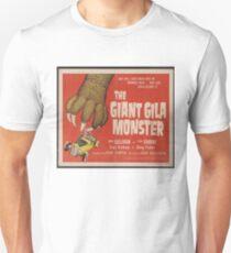 Das riesige Gila-Monster-klassische Horror-Film-Plakat Slim Fit T-Shirt