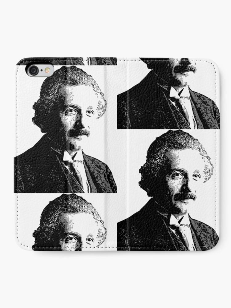 Vista alternativa de Fundas tarjetero para iPhone Relatividad de Einstein