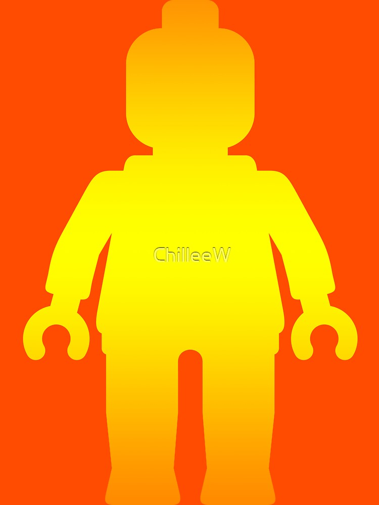 Minifig [Large Golden], Customize My Minifig by ChilleeW