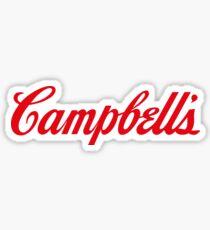 Soup Campbells Warhol Sticker