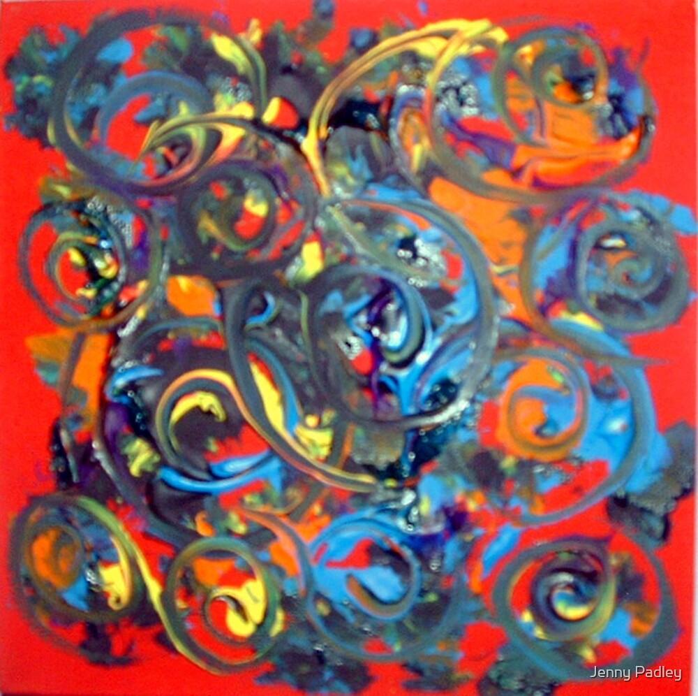 Spirals of life by Jenny Padley