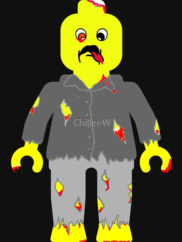 Zombie Minifig by ChilleeW