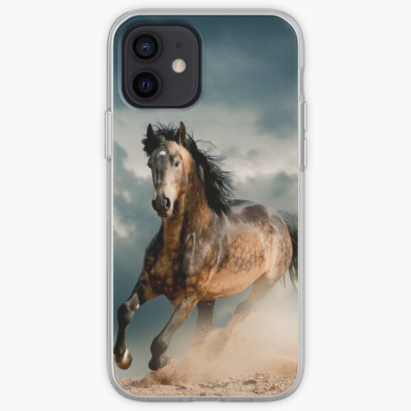 Galloping Horse  iPhone Soft Case