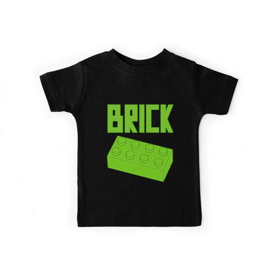 Green Brick, Customize My Minifig by Customize My Minifig