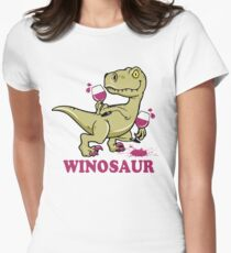 Winosaur Womens Fitted T-Shirt