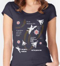 Russian Terminator Sweat Shirt Women's Fitted Scoop T-Shirt