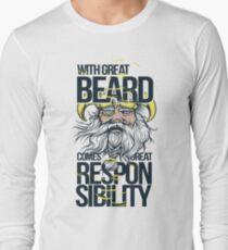 Great Beard  Long Sleeve T-Shirt