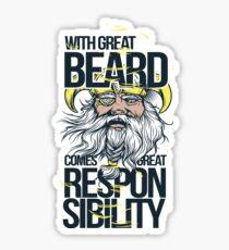 Great Beard  Sticker