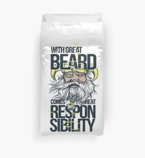 Great Beard  Duvet Cover