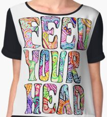 Feed Your Head Women's Chiffon Top