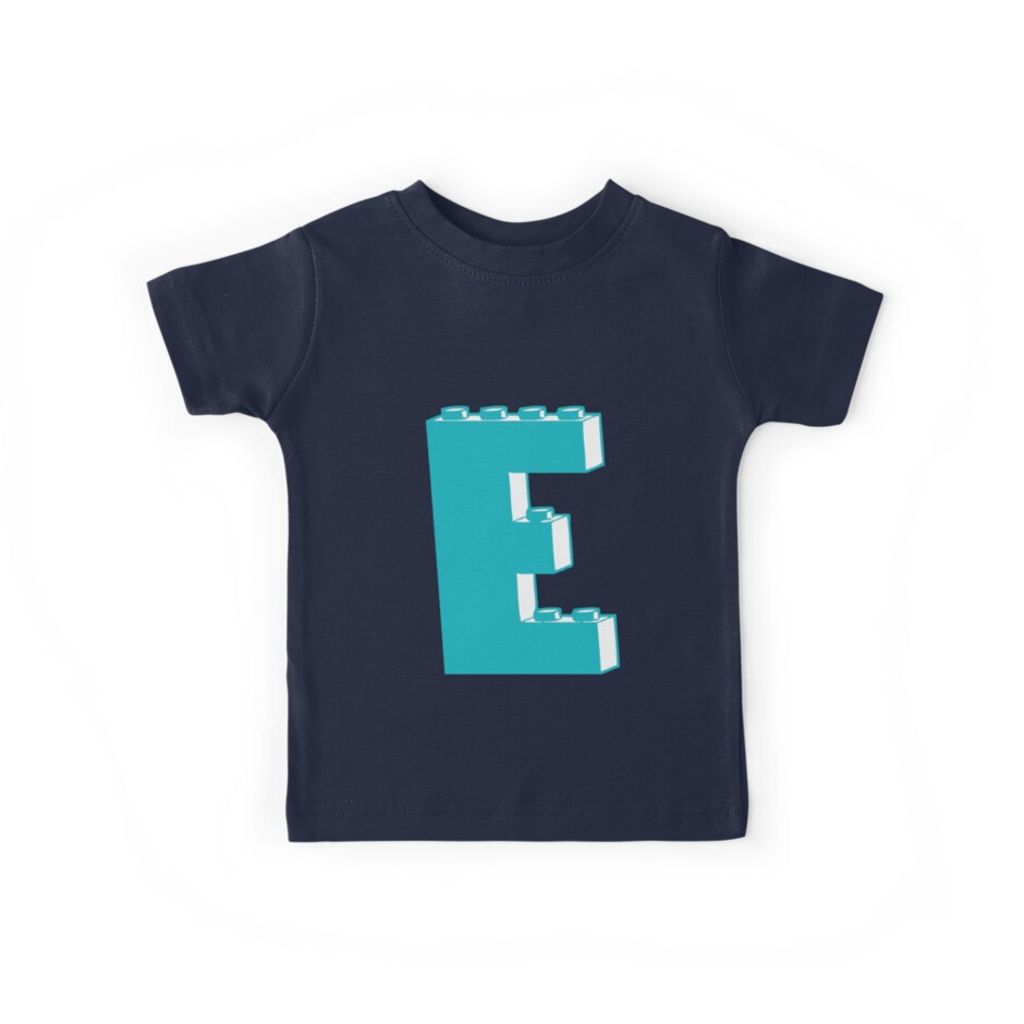 THE LETTER E, Customize My Minifig by Customize My Minifig