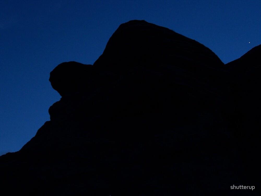 Elmer Fudd Resting under Night Sky by shutterup