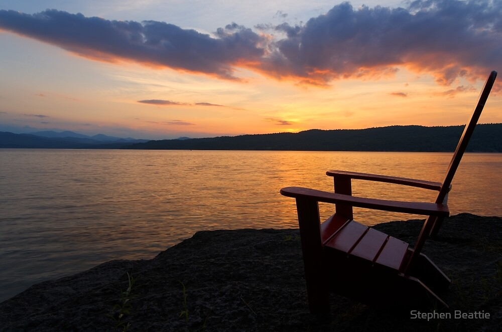 Quot Sunset Adirondack Chair Basin Harbor Resort Quot By