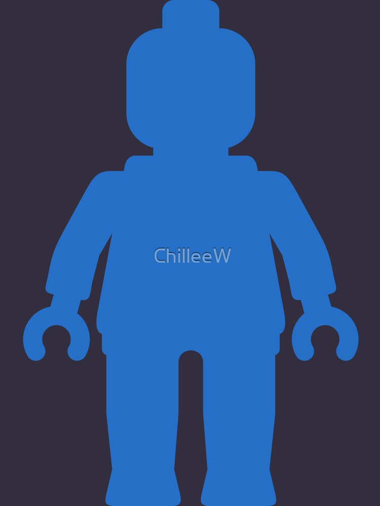 Minifig [Large Blue], Customize My Minifig by ChilleeW
