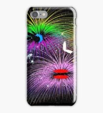 Facetious Fireworks iPhone Case/Skin