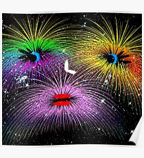 Facetious Fireworks Poster