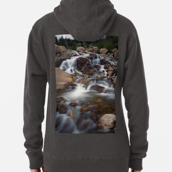 Aluvial Fan - Rocky Mountain National Park Pullover Hoodie
