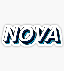Nova Retro Layers Sticker