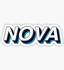 Nova Retro Layers Sticker