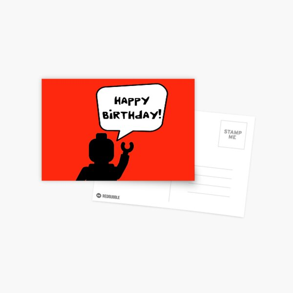 Happy Birthday Greeting Card Postcard