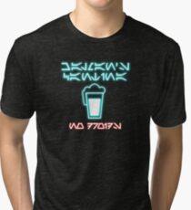 Chalman's Cantina - No Droids Tri-blend T-Shirt