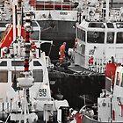 Among the tug boats by awefaul