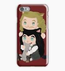 Monchevy - Kittens iPhone Case/Skin