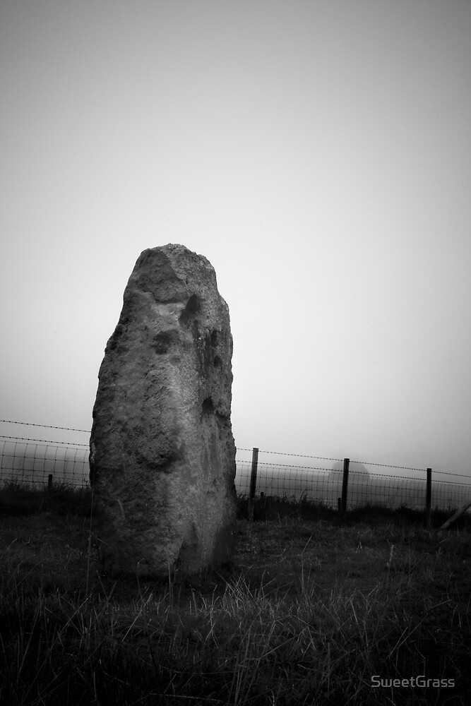Standing stone, Avebury by SweetGrass