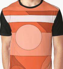 Orange modern material design background Graphic T-Shirt