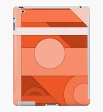 Orange modern material design background iPad Case/Skin