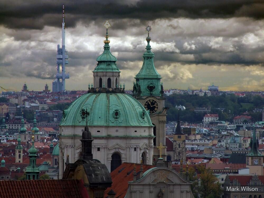 Prague City View by Mark Wilson