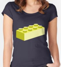 2x4 Brick Women's Fitted Scoop T-Shirt