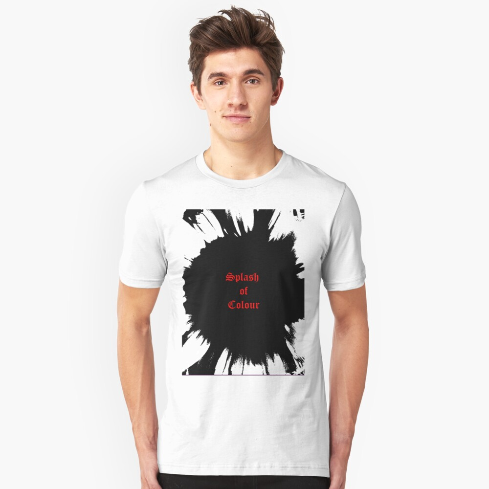 Splash... Unisex T-Shirt Front