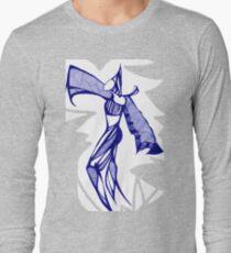 Blue Harem Long Sleeve T-Shirt