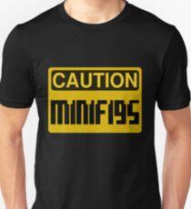 Caution Minifigs Sign T-Shirt