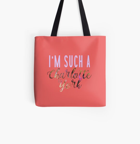 SUCH A CHARLOTTE All Over Print Tote Bag