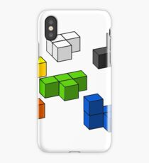 Tetris Blocks Design iPhone Case